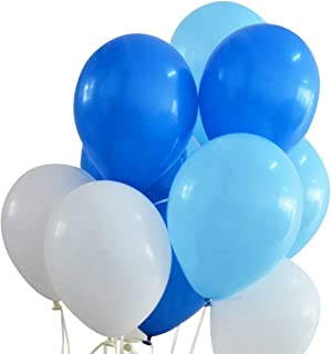 Best light blue and white balloons Reviews