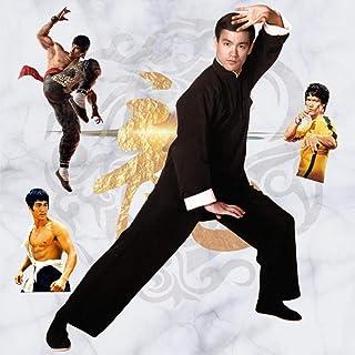 3D Etiqueta De La Pared Kung Fu Artes Marciales Estrella Hogar Sala De Estar Dormitorio Dormitorio Junto A La Cama Pegatinas De Pared Decorativos