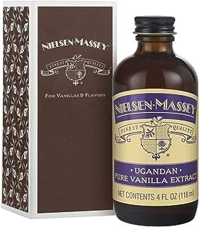 Nielsen-Massey Ugandan Pure Vanilla Extract, with Gift Box, 4 ounces