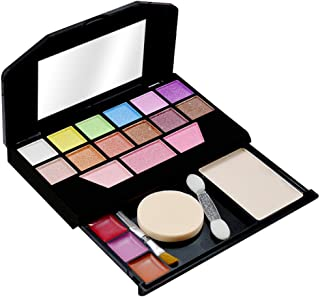 T.Y.A GOOD CHOICE INDIA Makeup Kit, 12 Eyeshadow, 3 Blusher, 1 Compact, 3 Lip Color, (5024), 15g With Lilium Hand Cleanser