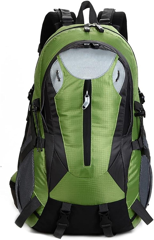 JYMDH Wandern Rucksack 40l Nylon Wasserdichte Outdoor Sports Reisen Reiten Klettern Klettern Ski-Paket