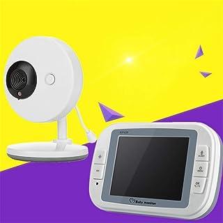 BABIFIS 2.4G Monitor inalámbrico para bebés Monitor inalámbrico de 35 Pulgadas con Pantalla para el Dispositivo de Cuidado del bebé