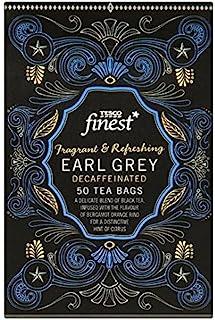 Tesco Finest Earl Grey Decaffeinated 50 Teebeutel 125g, feinster entkoffeinierten Schwarztee