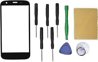 Black Motorola Moto G XT1031 XT1028 Front Outer Screen Glass Lens Replacement