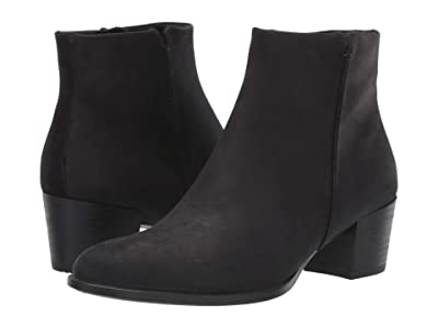 ECCO Shape 35 Stitch Boot (Black Nubuck Leather) Women