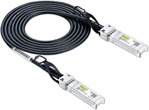 SFP+ DAC Twinax Cable, Passive, Compatible with Cisco SFP-H10GB-CU2M, Ubiquiti and More, 2 Meter(6.5ft)