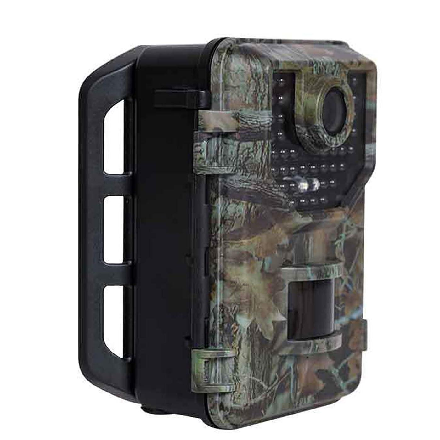 マインドフルアナニバー構成する野生生物の監視、庭、ホームセキュリティ監視のための赤外線モーションアクティブ化ゲームカメラナイトビジョン最大20mおよびIP66スプレー防水を備えた野生生物カメラ16MP HD1080Pトラップ