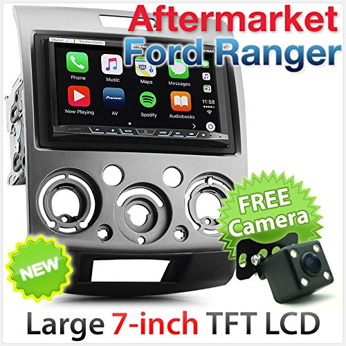 TUNEZ® 7 inch In-Dash Android Auto Audio CD DVD SD USB MP3 MP4 Speler voor Ford Ranger Stereo Radio Kit
