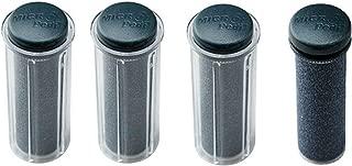 Emjoi Micro-Pedi Black Super-Coarse Refill Rollers/Set of 4