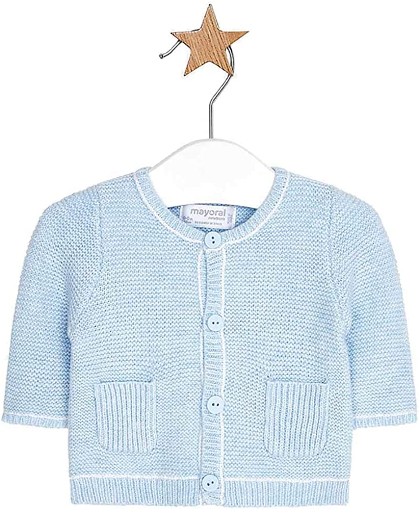 Mayoral Adorable Sky Blue Knitted Cardigan
