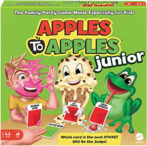 Product Image of the Mattel Games Apples to Apples Junior - The Game of Crazy Comparisons (Packaging...