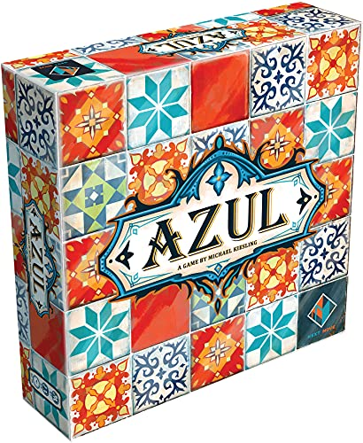 Azul Board Game | Strategy Board Game | Mosaic Tile Placement Game | Family Board Game for Adults and Kids | Ages 8 and up | 2 to 4 Players | Average Playtime 30 - 45 Minutes | Made by Next Move Games