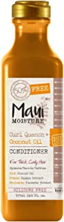 Maui Moisture Curl Quench Plus Coconut Oil Conditioner, 19.5 Ounce