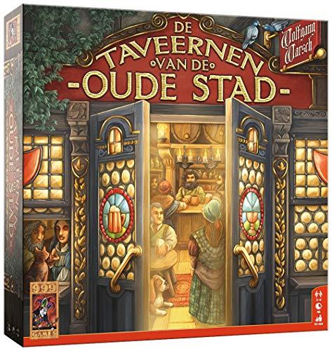 999 Games 999-Tav01 De Taveernen Van Oude Stad Bordspel Bordspel, Alle Kleuren