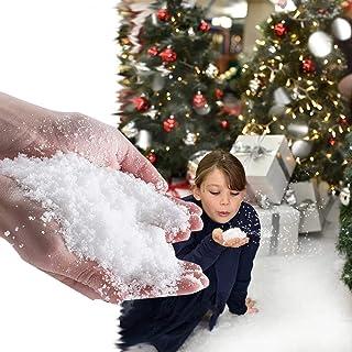 Zorg Voor Kunstmatige Sneeuw Voor Kinderen, Vrienden, Familie, Klasgenoten En Huisgenoten Om Kerstmis Diy-decoratie Te Spe...