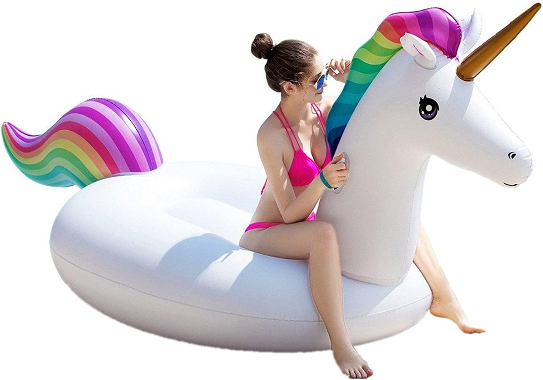 la mejor selección de Balsa inflable para natación La La La piscina inflable de la forma del unicornio del PVC flota el asiento para los Niños adultos el juguete del flotador de los muchachos de las muchachas de los Niños Flotad  liquidación hasta el 70%