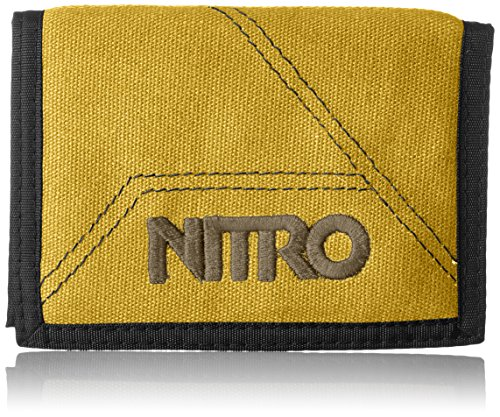 Nitro Wallet, Geldbörse, Geldbeutel, Portemonnaie, Münzbörse, Golden Mud, 10 x 14 x 1 cm, 1131-878000_1953, 60g
