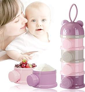 40 g color rosa MAM Milk Box Recipiente para leche en polvo