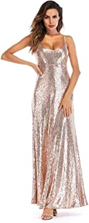 half off 570e9 8aea2 Amazon.it: Vestito con glitter - Oro