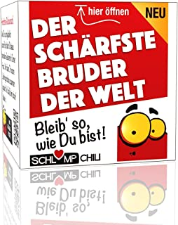 Schlump-ChiliBruder Geschenk SetDer schärfste Bruder der Welt - Ein witziges Präsent für Männer 1 Stk.