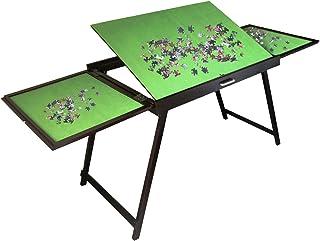 Portable Table de Puzzle Pliable inclinable Jigsaw Puzzle Accessoires de Table en Bois Se Plie