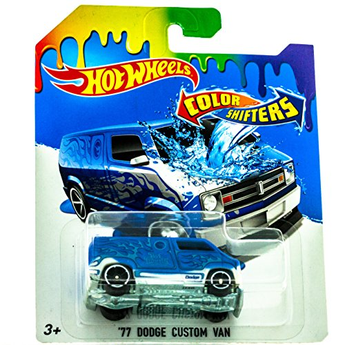 2016 Hot Wheels Color Shifters \'77 Dodge Custom Van by Hot Wheels
