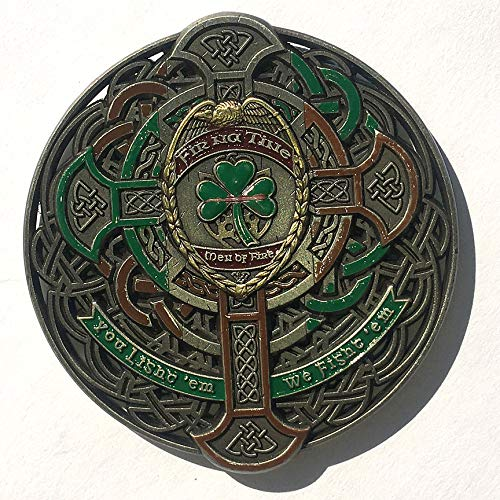 Firefighter Fir Na Tine Men of Fire Celtic Thin Red Line Coin