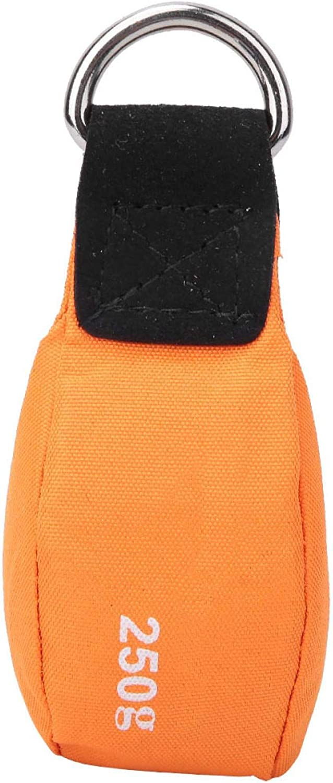 RANNYY Throwing Rope Bag Orange Climbing Columbus Mall Branded goods Multi-Purpose Tr Nylon