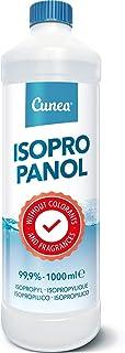 Isopropanol 99,9 % lämplig som fettlösare, rengöringsvätska 1 liter – självhäftande borttagare, 1 000 ml