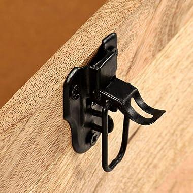 vidaXL Solid Mango Wood Storage Bench Genuine Leather Entryway Seat Living Room Bedroom Bench Home Organiser