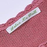 144 x Etichette Personalizzate Per Vestiti Per Scuola | Etichette Da Cucire Vintage Per Vestiti