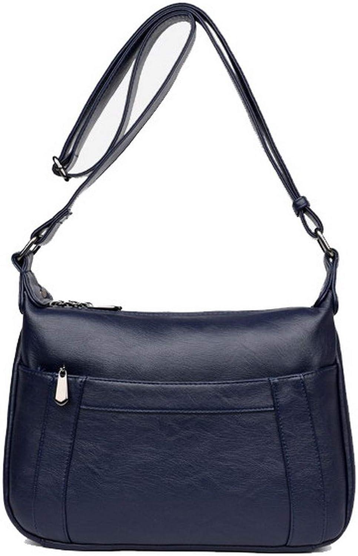 AllhqFashion Women's Tote Bags Casual Zippers PU Crossbody Bags,FBUBD181591
