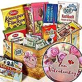 Zum Valentinstag - Zum Valentinstag Frau - DDR Korb Schokolade