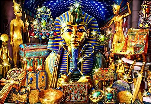 1000 Piezas Rompecabezas De Madera Faraón Egipcio Puzzles Madera Rompecabezas Alivie El Estrés Juego Adulto Diy Decoraciones Para El Hogar Decoración Moderna Para El Hogar Únicos
