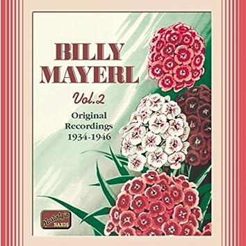 Mayerl, Billy: Billy Mayerl, Vol.  2 (1934-1946)