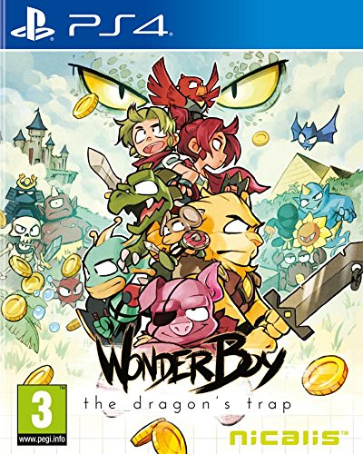 Wonder Boy: The Dragon's Trap - PlayStation 4 [Importación inglesa]