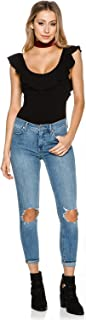 Free People Womens Busted Denim Destroyed Skinny Jeans