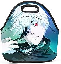 SsSEYYA Neoprene Lunch Tote Bag Tokyo Ghoul Reusable Picnic Lunch Box for Men, Women, Kids, Girls, Boys