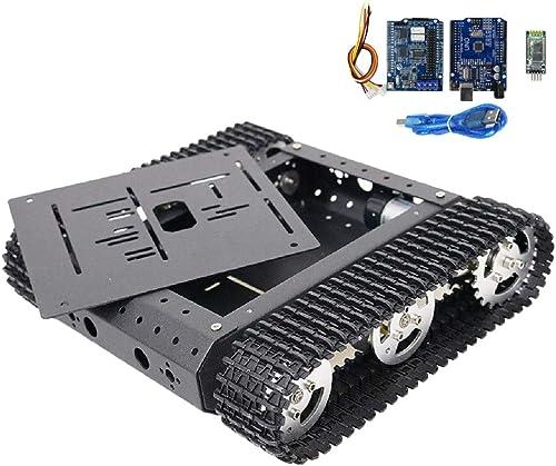 SM SunniMix DIY Blautooth Roboter Chassis Plattform fürgestell für Wettbewerb Abschlussdesign und DIY RoboterprojektBlautooth - 12V 180 Hochpr ser Motor
