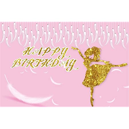 7x10 FT Art Vinyl Photography Backdrop,Female Ballet Dancers Performing Arts Black Silhouettes Illustration Design Background for Photo Backdrop Baby Newborn Photo Studio Props