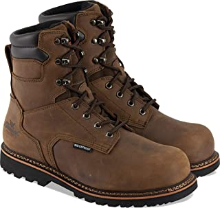"""Thorogood Men`s V-Series 8"""" Waterproof, Composite Safety Toe Boot"""