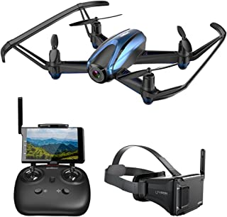 drone with vr glasses