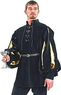 Men's Renaissance Cavalier Velvet Shirt