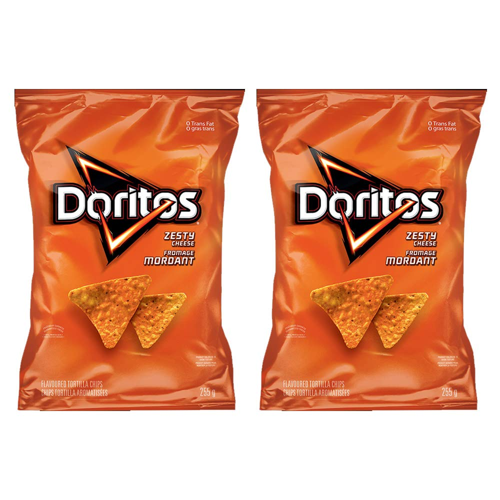 Ranking TOP7 Cheap super special price Doritos Zesty Cheese Tortilla Chips 2-Pack 8.9oz 255g {Importe