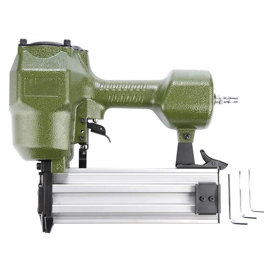 極小レイアハチST64 空気圧ネイルガン エアー 空気圧釘打機 木工機械 電源ステープルガン ハンドツール