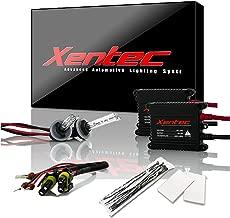 Xentec 880 (881/889) 10000K HID xenon bulb x 1 pair bundle with 2 x 35W Digital Slim Ballast (Ocean Blue)