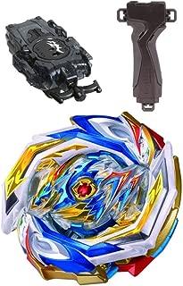 TAKARA TOMY 3-Piece Set [Takara Tomy Beyblade Burst GT B-154 DX Booster Imperial Dragon Ig'+ B-141 Long Bay Launche + B-109 Launcher Grip Gun Metallic] [Japanese Package] [Japan Import]