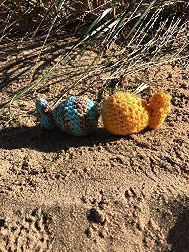 Crochet Catnip Fish, Handmade, Cat Toy, Kitty Toy, Kitten Toy, Organic Catnip