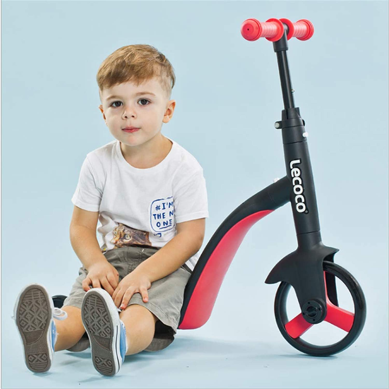 HXYL Kinder Roller, Kinder Roller 3 Rder verstellbar Stehen und sitzen, multifunktionale Roller DREI Rder