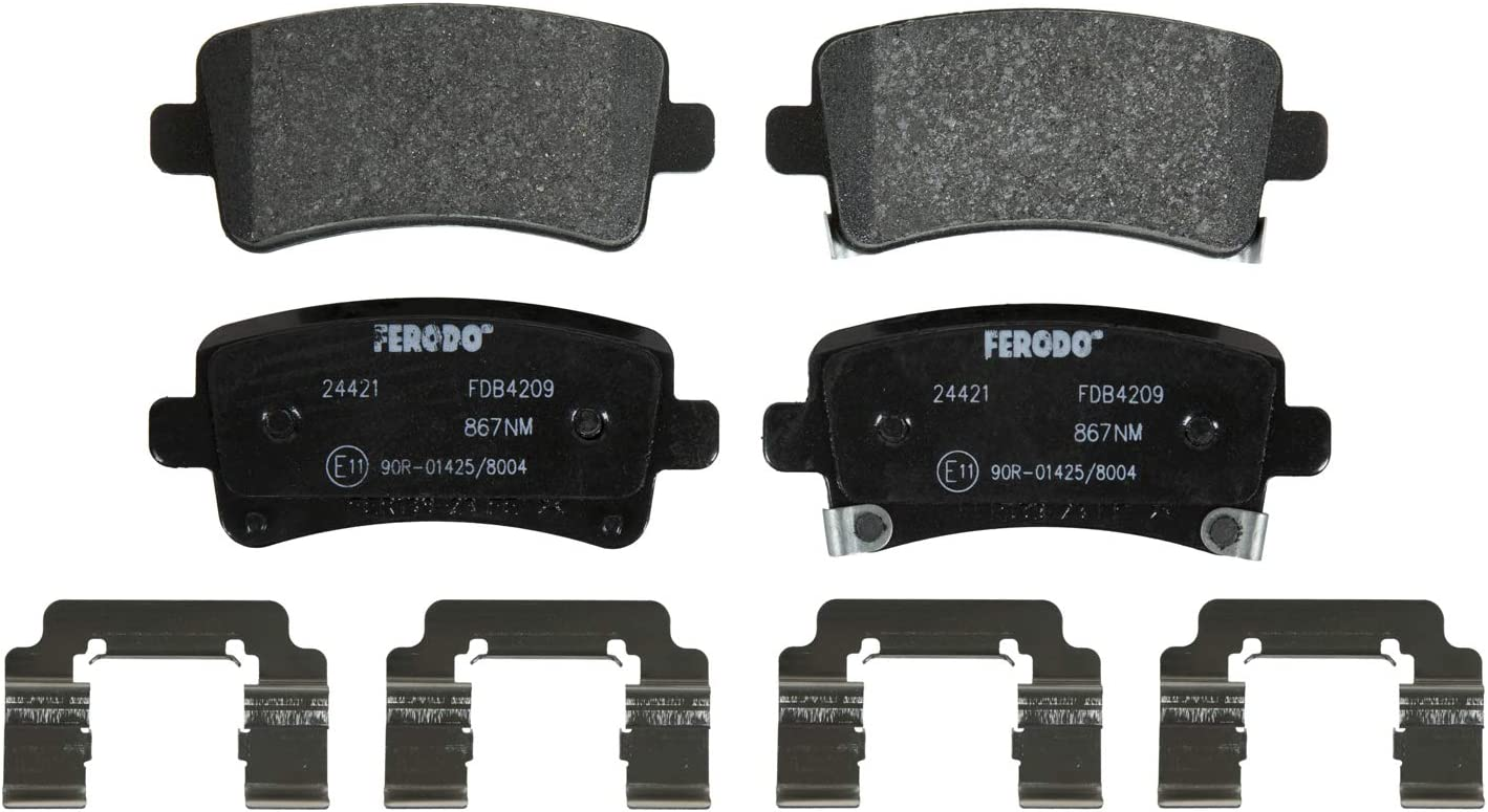 Ferodo FDB4209 Low Steel Set Brake Disc Pad Opening large release Tampa Mall sale